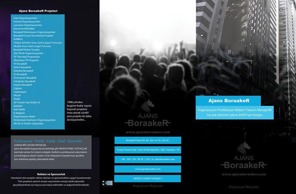 Organizasyon Ses Işık Görüntü Sahne Prodüksiyon Reklam Tasarım Menajerlik AVM Festival Fuar Hazırlama ve Kongre